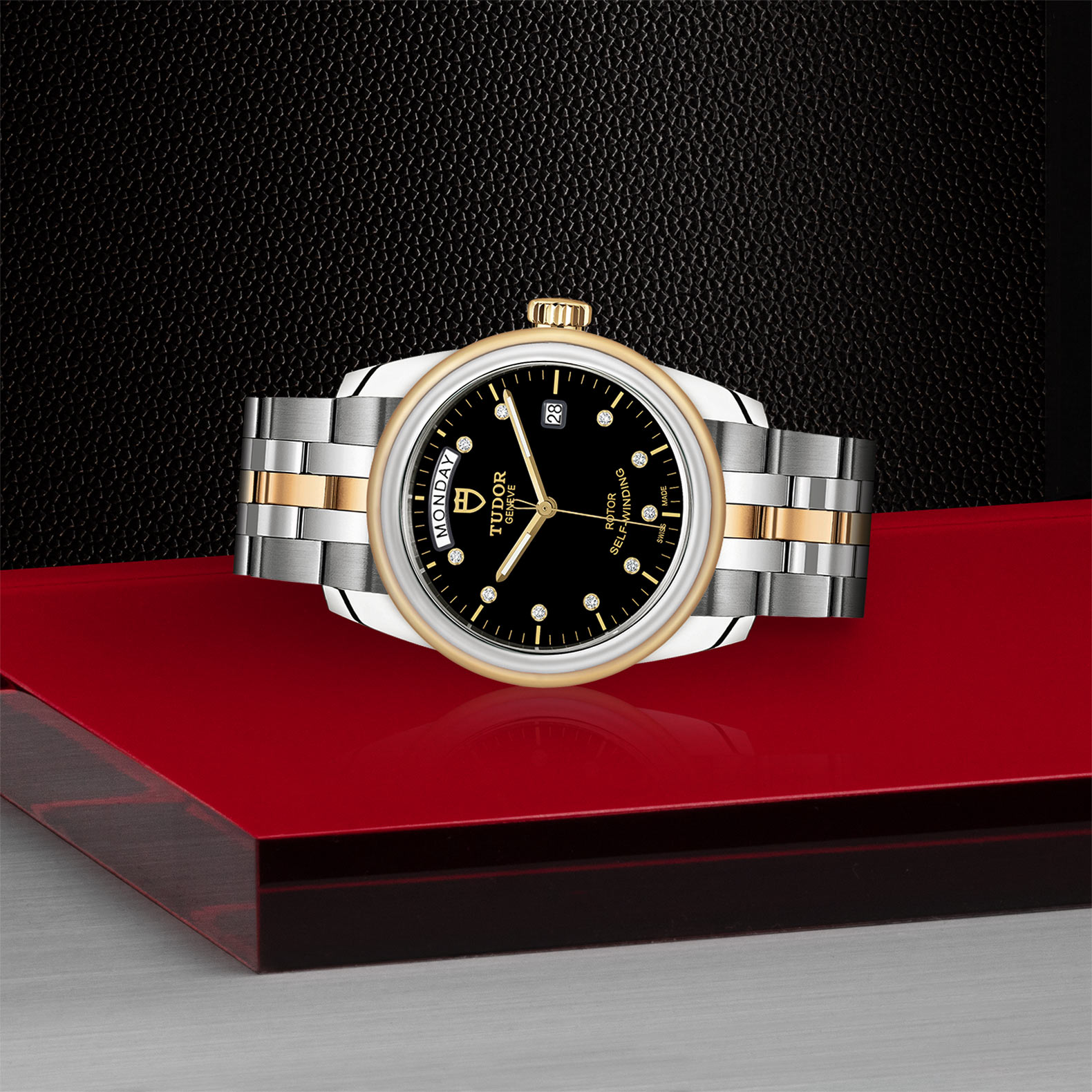 TUDOR Glamour Date+Day - M56003-0008