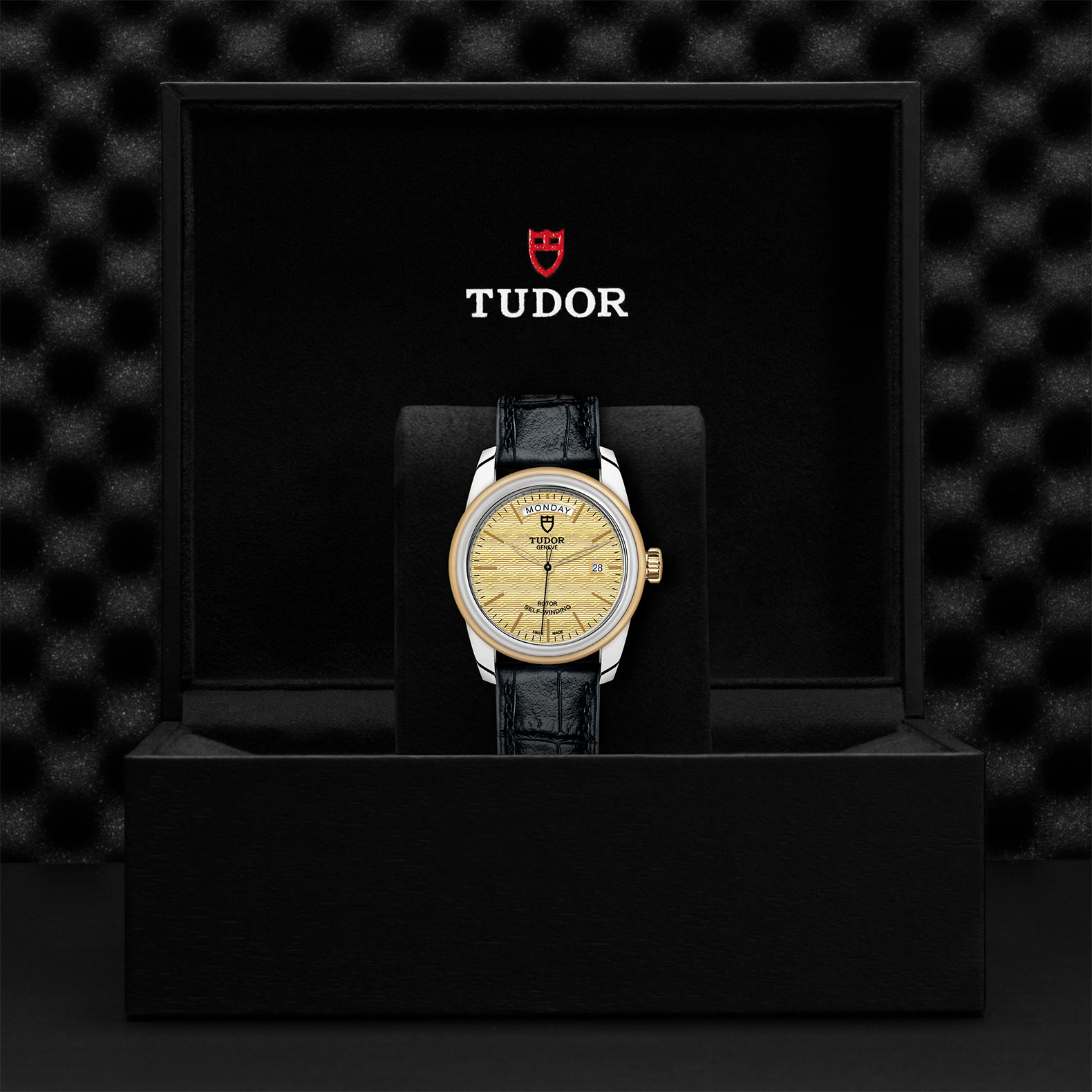 TUDOR Glamour Date+Day - M56003-0010