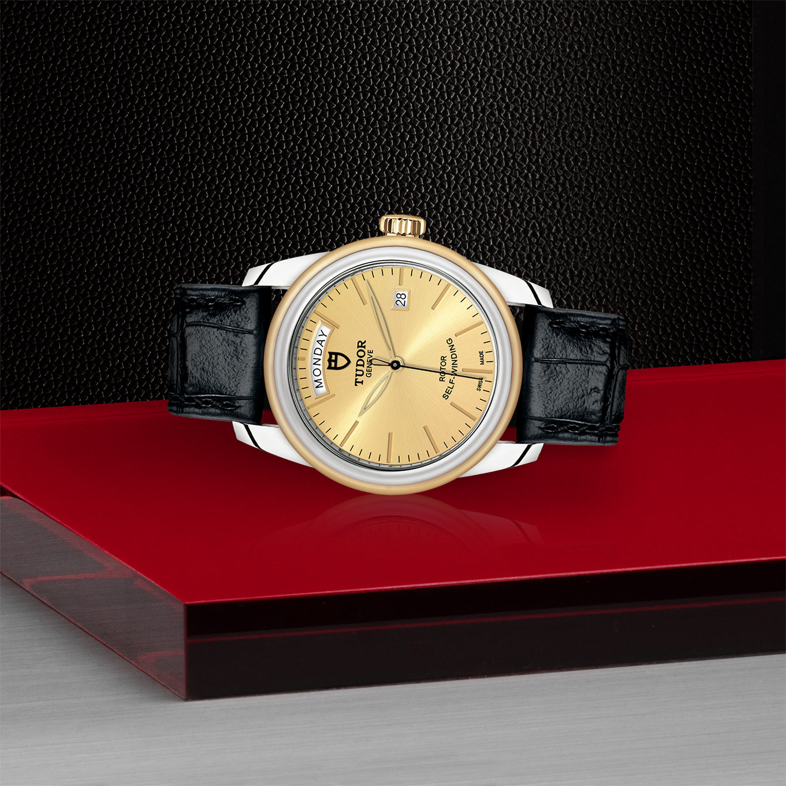 TUDOR Glamour Date+Day - M56003-0024