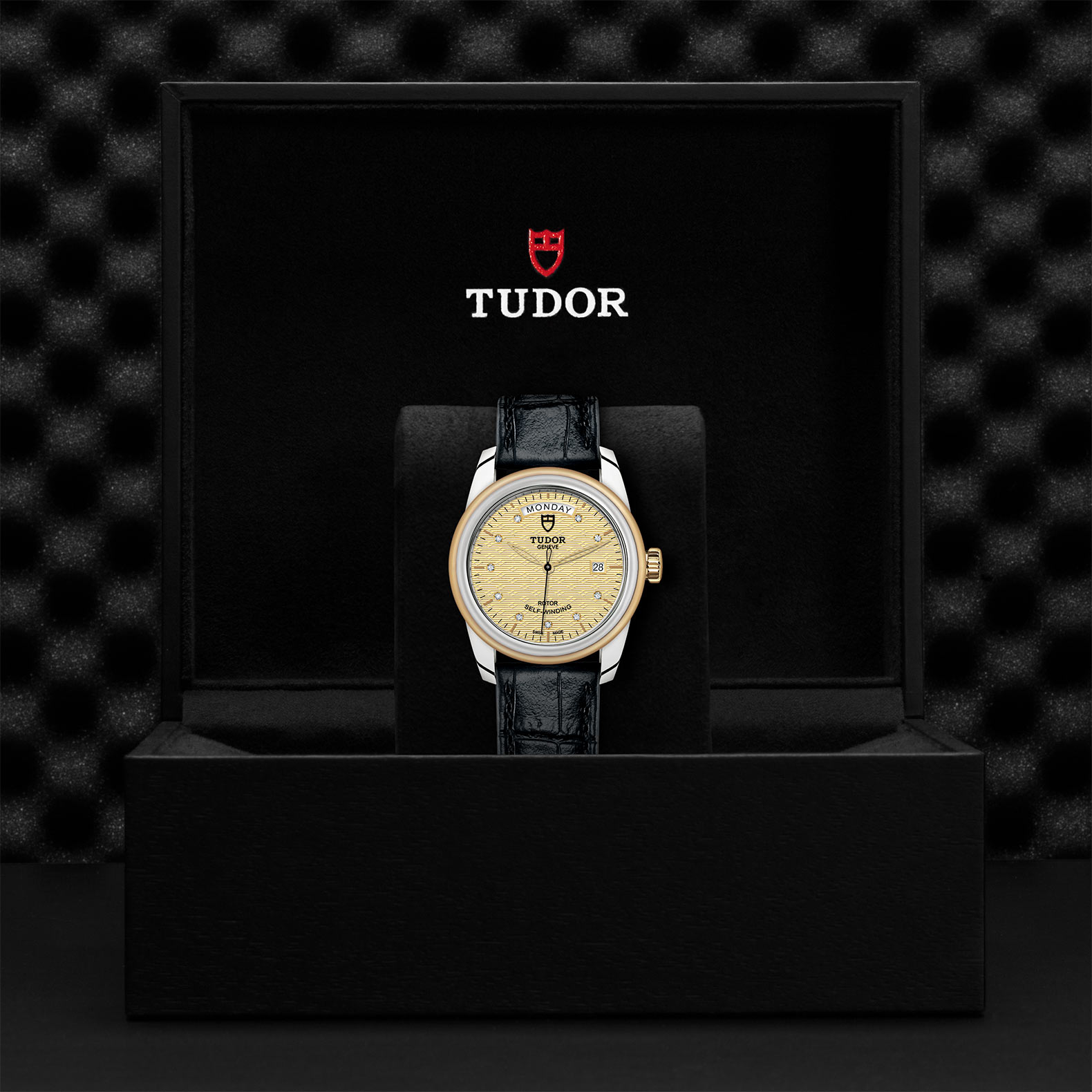 TUDOR Glamour Date+Day - M56003-0029