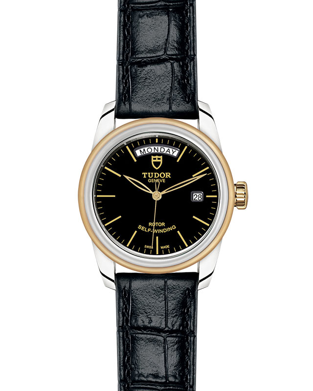 TUDOR Glamour Date+Day - M56003-0040