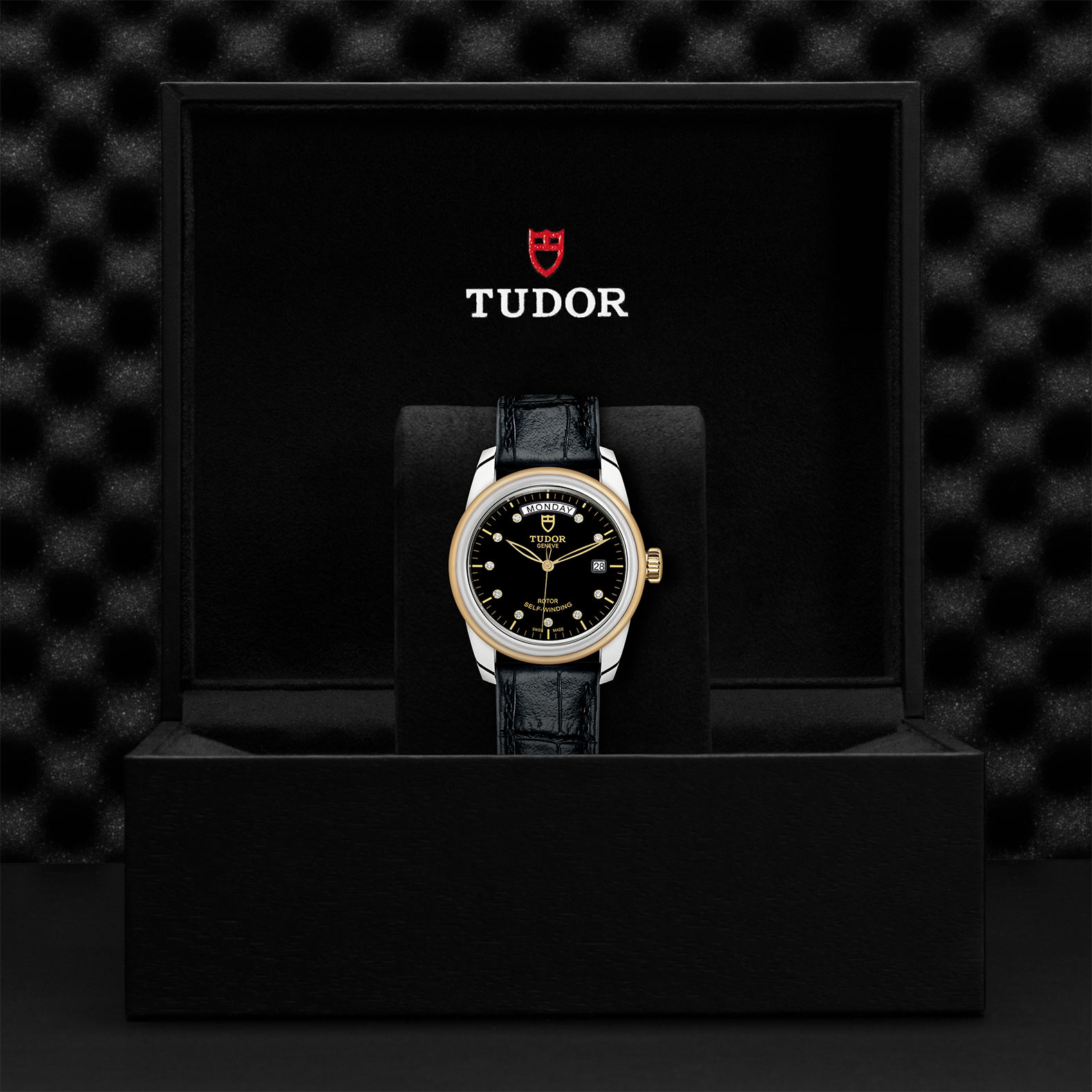 TUDOR Glamour Date+Day - M56003-0045