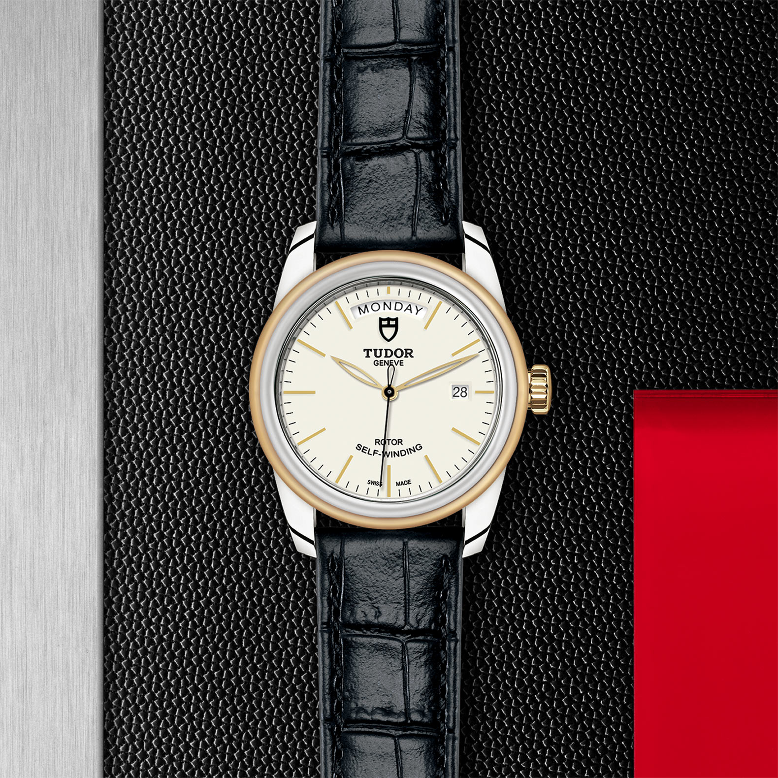 TUDOR Glamour Date+Day - M56003-0107