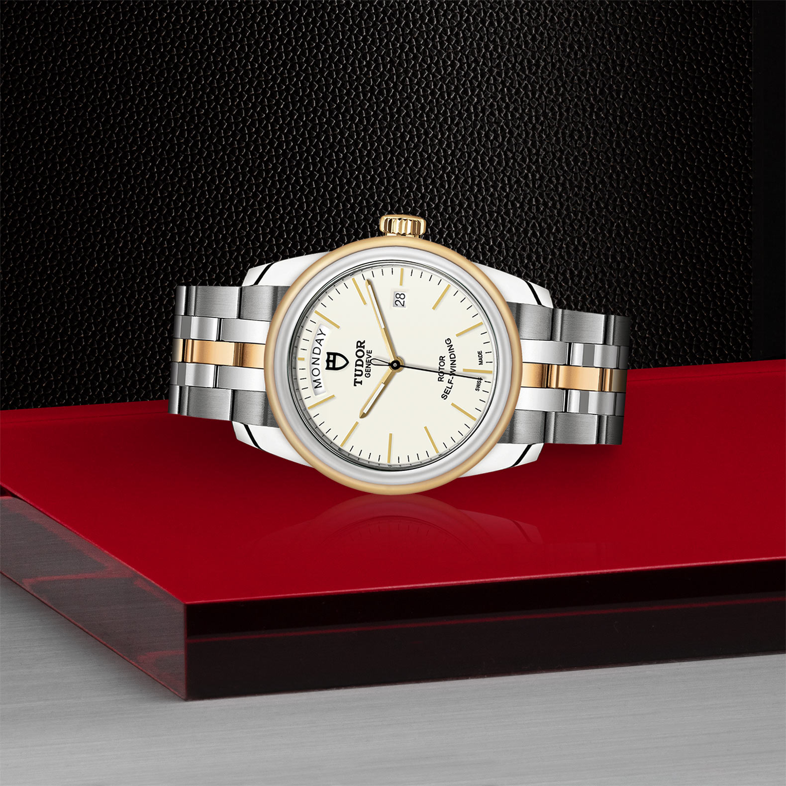 TUDOR Glamour Date+Day - M56003-0112