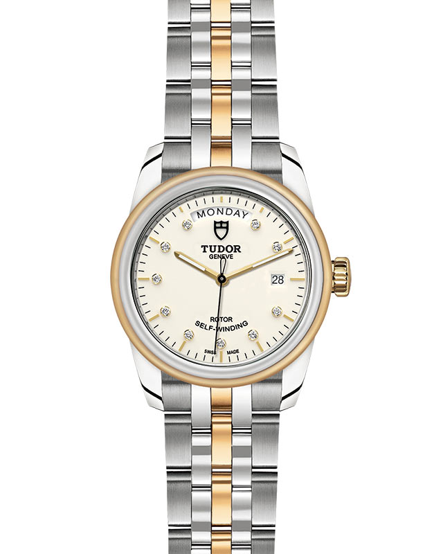 TUDOR Glamour Date+Day - M56003-0113