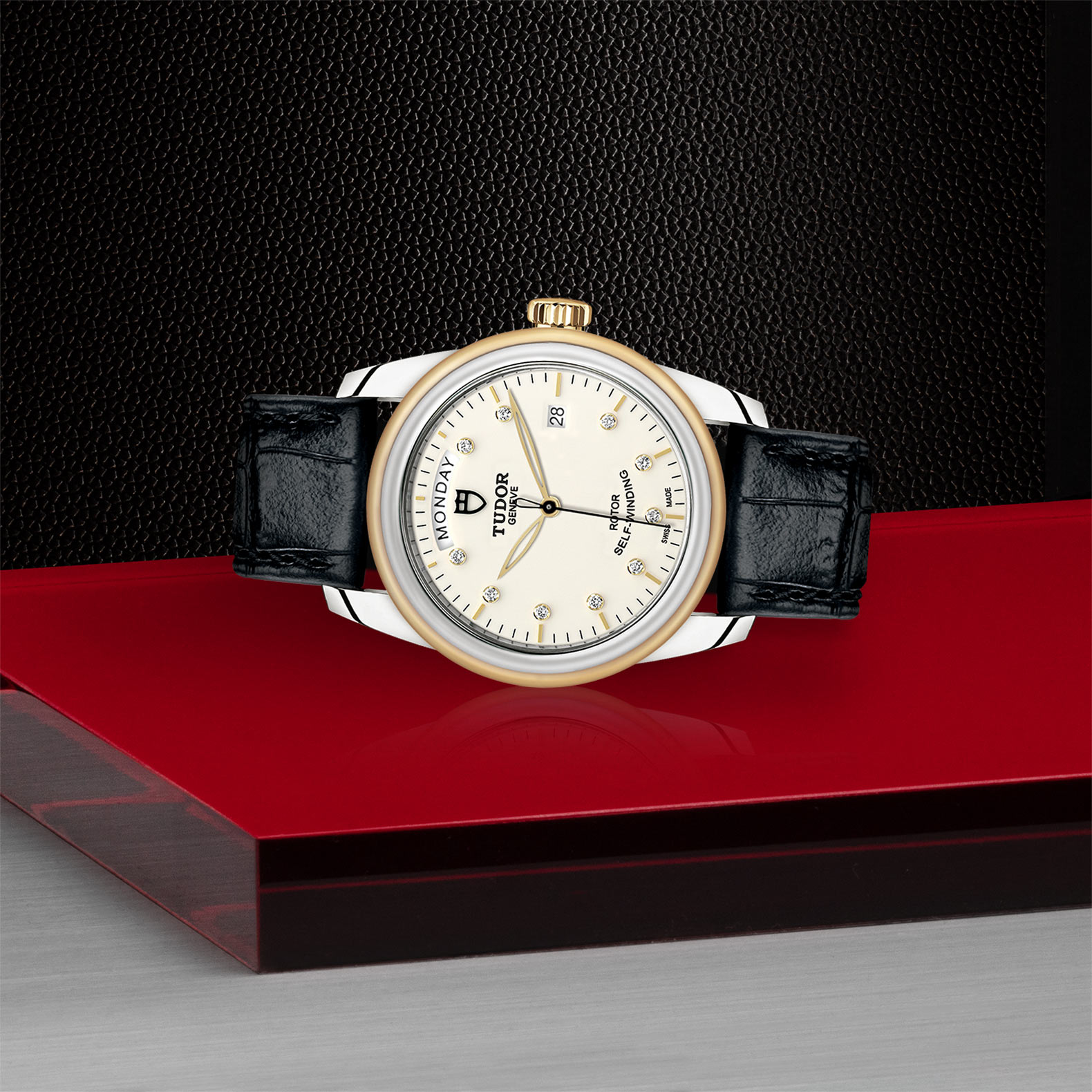 TUDOR Glamour Date+Day - M56003-0115