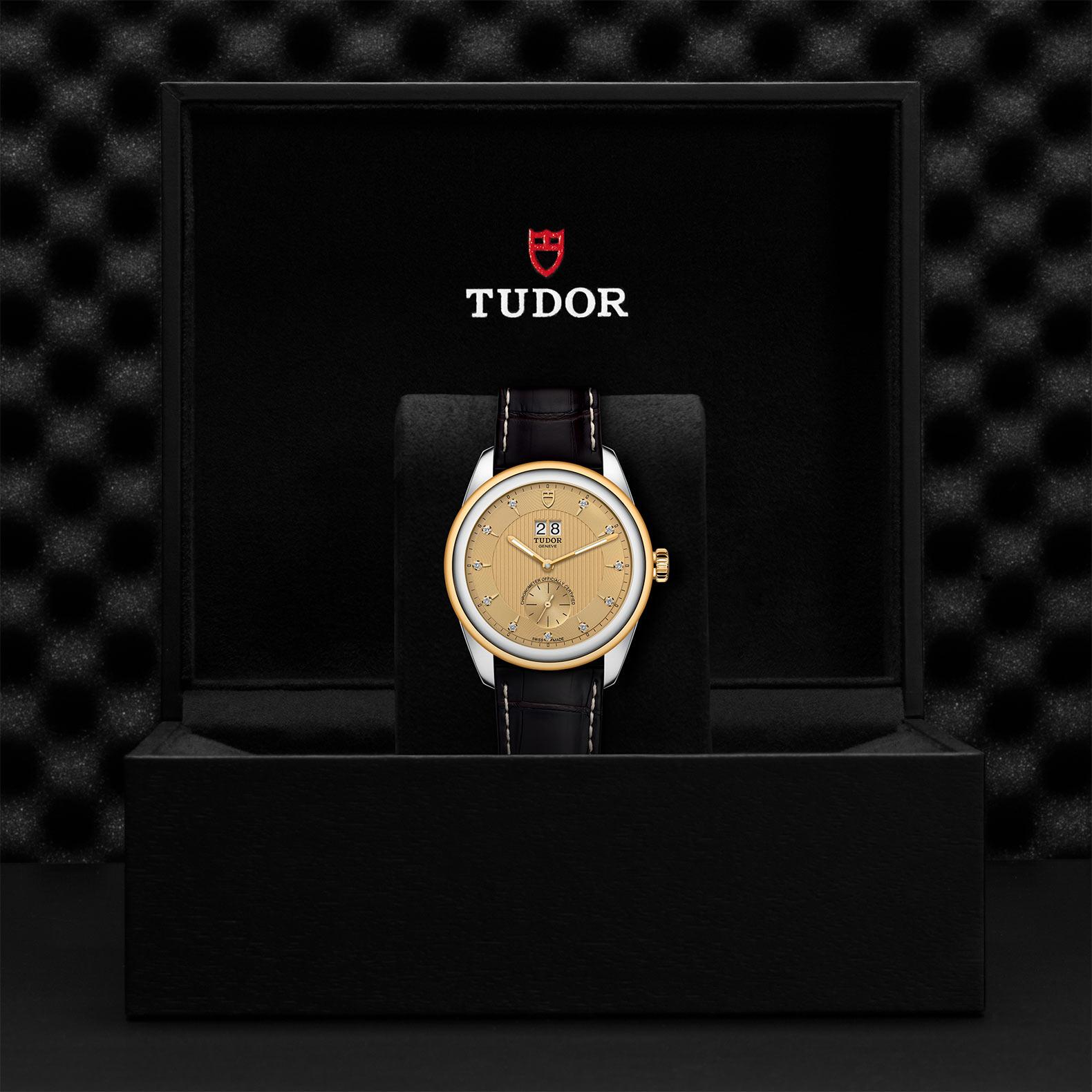TUDOR Glamour Double Date - M57103-0024