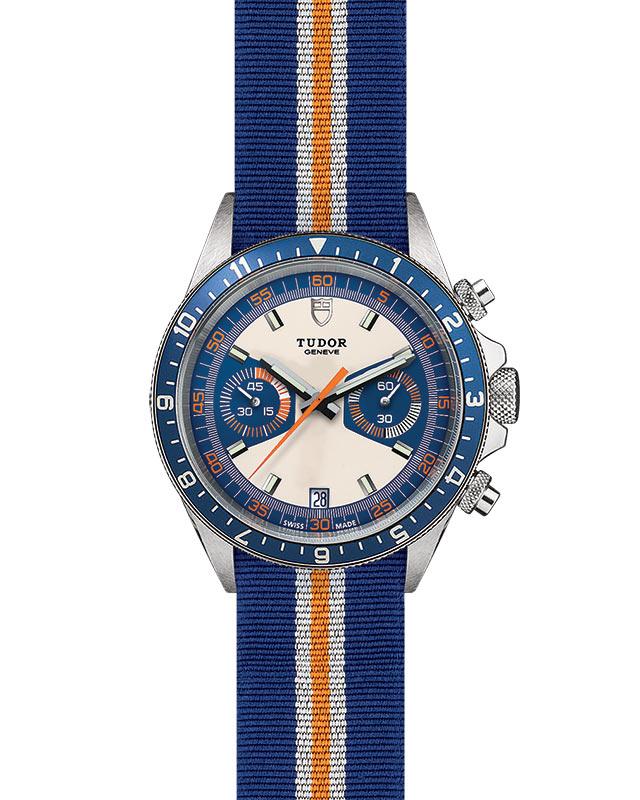 TUDOR Heritage Chrono Blue - M70330B-0003